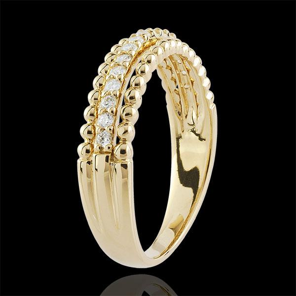 Anello Caviale di Diamanti